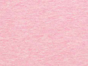 Jersey angeraut, rosa melange