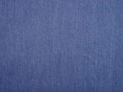 Viskose Jeanslook uni, jeansblau