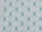 Tüll Punkte 8 mm elastisch, altmint