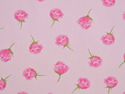 Jersey Rosen mit Duft, rosa