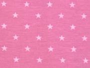 Jersey Sterne 5 mm, rosa altrosa