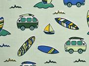 Jersey Busse Surfbretter, hellgrün