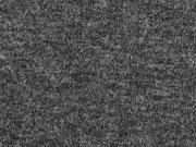 RESTSTÜCK 69 cm Strickstoff Feinstrick meliert, anthrazit