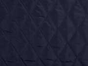 Jackenstoff wattierter Stepper uni, nachtblau