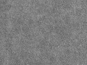 Sweat Frottee elastisch uni, dunkelgrau