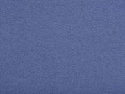 Bündchenstoff Meterware Glattstrick uni, jeansblau