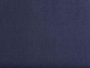 Baumwollstoff uni, dunkelblau