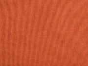 RESTSTÜCK 35 cm Dekostoff Leinenlook uni, terracotta meliert