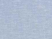 Viskose Leinen Stoff uni, hellblau meliert