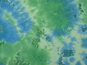 RESTSTÜCK 46 cm Jersey Batik, hellgrün hellblau