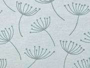 Dekostoff Pusteblumen Dandelions, mint