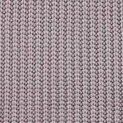 Strickstoff Baumwolle Halbpatent gerippt, dunkles taupe