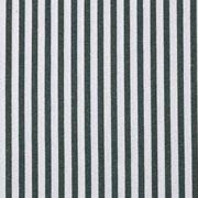 Viskose Leinen Stoff Streifen 4 mm, weiß dunkelgrün