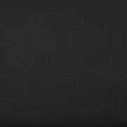 Musselin Stoff Double Gauze uni, schwarz