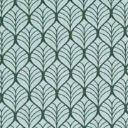 Baumwollstoff Blättermuster, khaki altmintgrün