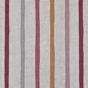 Dekostoff Streifen Leinenlook, altrosa ockergelb natur