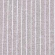 Viskose Leinen Stoff Streifen, weiß beige meliert