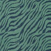 Jerseystoff Zebra Muster, schwarz grün