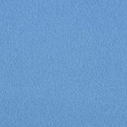 Baumwollfleece Stoff uni, jeansblau
