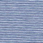 Jerseystoff schmale Streifen 1 mm Garn gefärbt, hellblau jeansblau