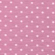 Jerseystoff kleine Punkte, rosa dunkles altrosa