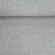 Jacquard Strickstoff Hahnentritt, schwarz weiß
