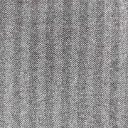 Mantelstoff Jackenstoff Fischgrätmuster, grau schwarz