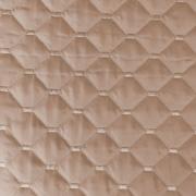 Steppstoff Jackenstoff wattierter Stepper uni, camel braun
