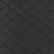 Steppstoff Jackenstoff wattierter Stepper uni, schwarz