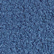 Boucle Stoff Lammfell Optik, jeansblau