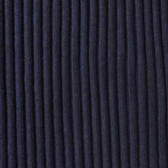 Bündchenstoff gerippt Hipster-Beanie Stoff, dunkelblau