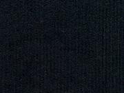 Feincord uni - schwarz