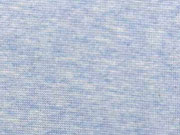 glattes Bündchen, helles jeansblau melang (WA)