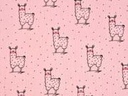 Musselin Double Gauze Lamas, rosa