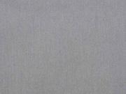 RESTSTÜCK 22 cm Baumwollstoff uni, Mausgrau