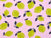 Jersey Zitronen Limonen, rosa