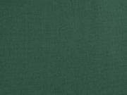 RESTSTÜCK 22 cm Baumwollstoff uni, dunkelgrün