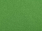 Baumwollstoff uni, grassgrün