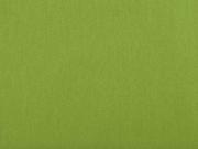 Baumwollstoff uni, gelbgrün
