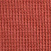 Waffelpiqué Frottee, terracotta
