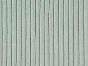 Rippenbündchen Rippenstrick, hellmint