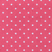 Baumwollstoff kleine Punkte beschichtet Petite Dots, weiß koralle