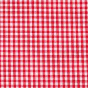 Baumwollstoff Vichykaro 2,7 mm, rot