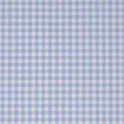 Baumwollstoff Vichykaro 2,7 mm, hellblau