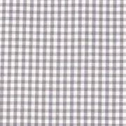 Baumwollstoff Vichykaro 2,7 mm, grau