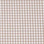 Baumwollstoff Vichykaro 2,7 mm, beige