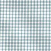 Baumwollstoff Vichykaro 2,7mm, altmint weiß