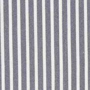 Baumwollstoff schmale Streifen längs beschichtet, weiß grau