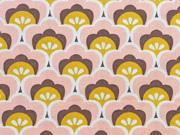Popelin Seashore Shelly-apricot/safrangelb