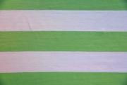 Jersey Blockstreifen 6 cm, weiß hellgrün
